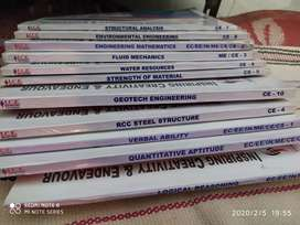 Civil engineering ICE gate  booklets( All booklets)