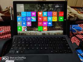 Surface pro 3 (8/256 SSD) with all accessories