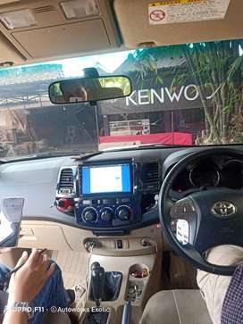 Head unit android fortuner 9inc PNP+Frame