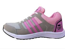 Port Victory Pink Sports & Gym Shoes for Women