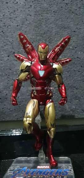 Iron Man  Action Figure Mark 85 ZD Toys Original Disney