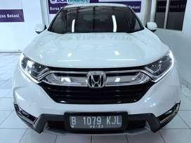 CRV 1.5 TURBO Triptonic 2018 Putih Bisatt Fortuner Pajero Xtrail 2019