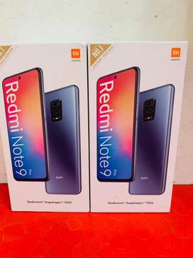 REDMI NOTE 9 PRO SEALED PACK AVAILABLE
