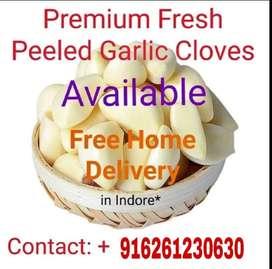 Rudrans peeled garlic 100ru kg