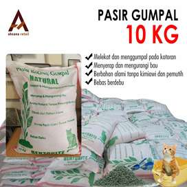 √ COD Citeureup | Jual Pasir Kucing/Gumpal NATURAL BENTONITE 10 KG