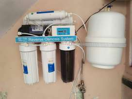 Ro Water plant. Water Filter