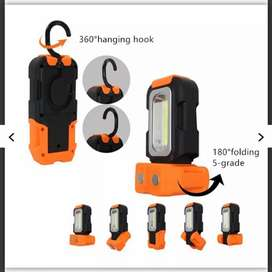 TaffLED Senter Camping LED Portable Gantung+Magnet 200 Lumens-Orange