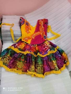 Model Frock with design