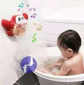 Pembuat Gelembung Mandi Bayi Motif Kepiting