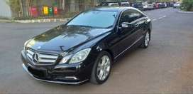 Mercy E350 Coupe Th 2010 Low KM30rb an Pajak Panjang