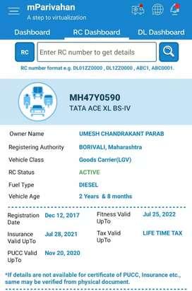 Tata Ace xl 2018