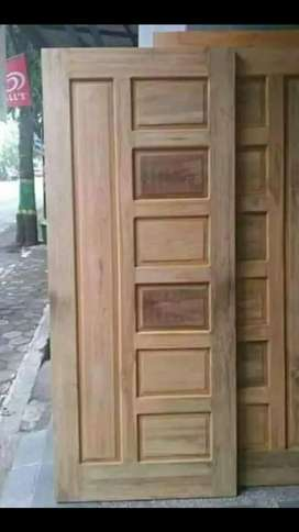 (promo sepesial) kusen pintu jati minimalis