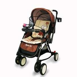 Stroller BabyDoes Roza XL 2 arah dorong , bisa jadi ayunan /JOGJA