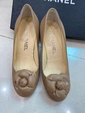 Chanel escarpins women shoes size 36 colour beige