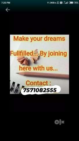 Part time job offer for 10th,12th& any deg