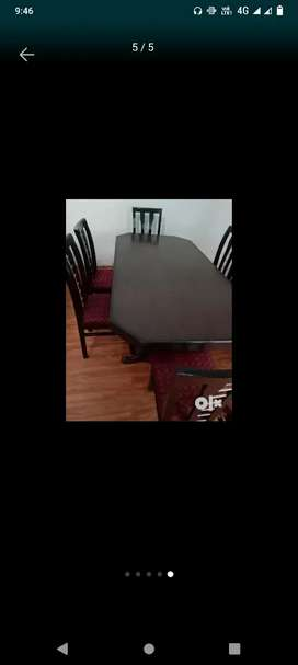 New dianing table
