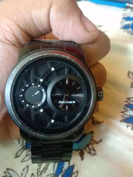 Fastrack watch Black collection!