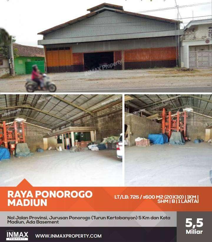 Gudang Raya Ponorogo 132A Madiun