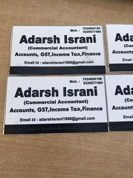 Contact for any type of accounting services