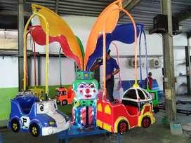 Wahana anak komedi putar safari  mini coaster AF