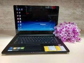 Laptop lenovo g40 amd a8 free flasdisk 8gb wajib screnshoot iklan