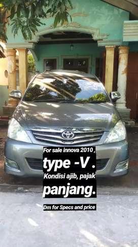 Toyota Innova Type V- Diesel 2,5 ( 2010 )
