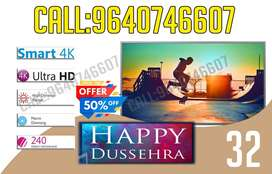 New Dinora full hd led tv 4k technology With 2yrs warranty - 32inches