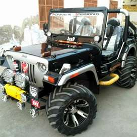 Divu modified jeeps