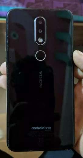 Nokia 6.1 plus 4gb ram 64rom