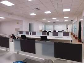 co-working space at hebbal, fully furnished, cafeteria