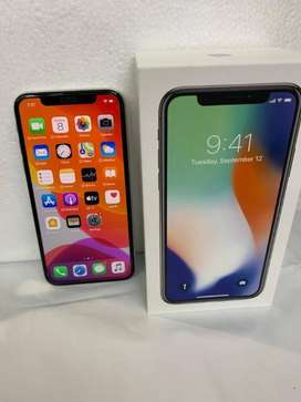 Apple iPhone X 256Gb White colour with Box and Kit