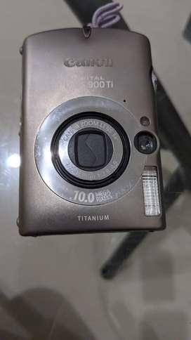 Kamera batangan Canon Digital IXUS 900Ti apa adanya, 10 MP