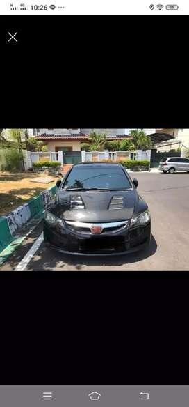 Dijual Honda Civic Fd1 Triptonic THN 2010