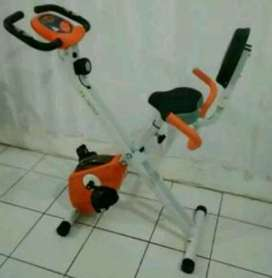 best alat olahraga=orange bike sandaran Type TL-920