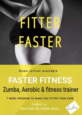 Zumba,Aerobic & fitness classes
