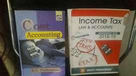 Bcom 2nd year ccs university cost accounting and income tax book