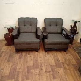 Brand new 5 seater brown color catalogue sofa set for sale.