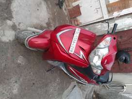 HERO DUET  Insurance, pollution, engine condition Good, broke tail gl.