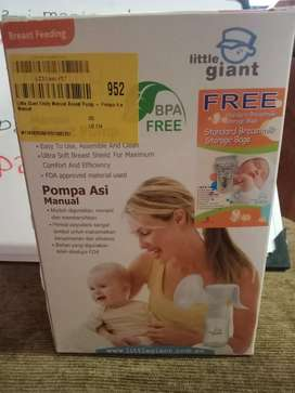 Pompa asi bayi,breast pump merk little giant,harga bisa nego