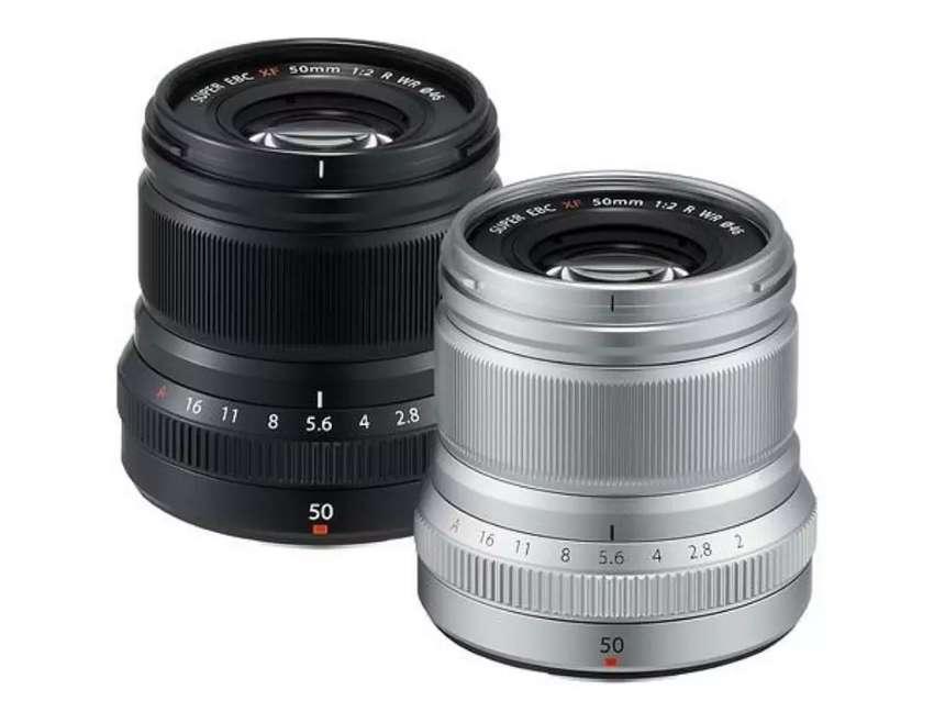 Fujinon xf 50mm f2 wr black/silver 0