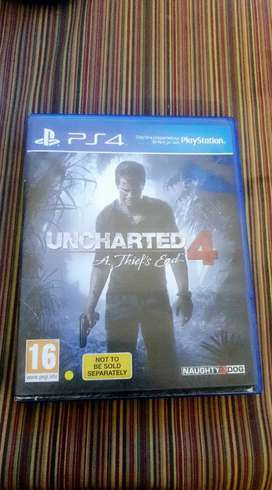 Uncharted 4 PS4 available for Exchange