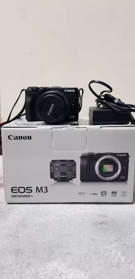 Mirrorless Canon M3 Lensa kit