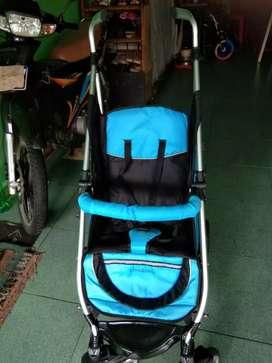 Stroller baby Merek Chris and Olins, Nomor dan Nama Model U1390A Surf