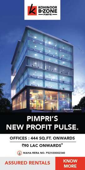 SHOP & Offices In Pimpri- 90 Lakh Ownwards to 1.25 Cr.