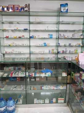 Running medical store for sale