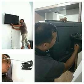 Solusi pasang Bracket LED TV all size