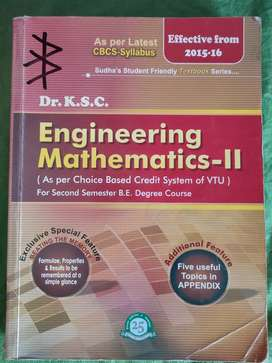 Engineering Mathematics - 2 by Dr. K.S.C