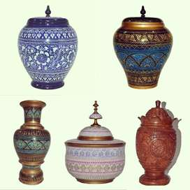 Wooden vase and wooden candy jars