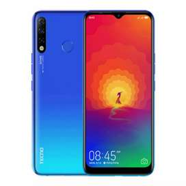 Tecno spark 4 3gb 32gb available in just 15300 box pack
