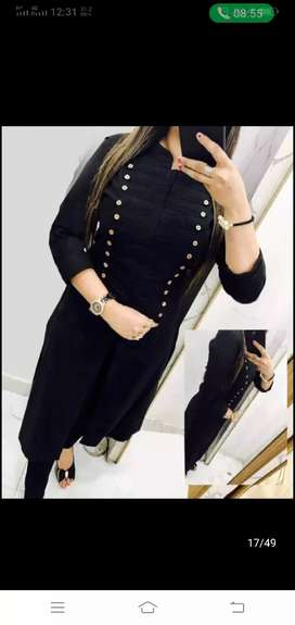 Al type of kurti lagin available here(wholeseller)